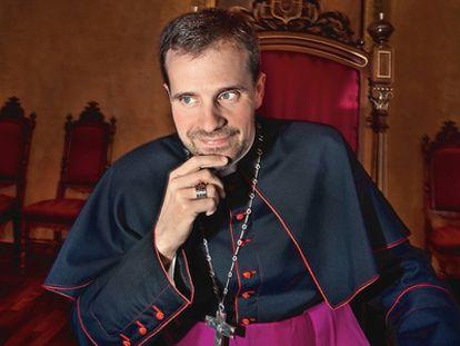 Xavier Novell, obispo emérito de Solsona, en una entrevista con El País Semanal en 2011.