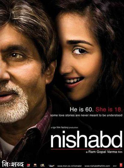 Letrero promocional de la película india 'Nishabd'