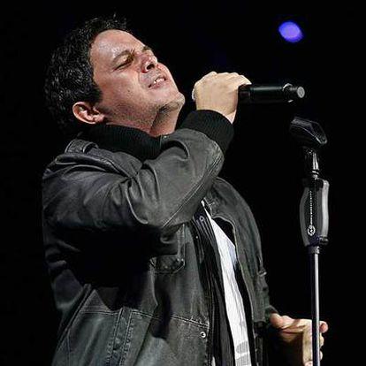 El cantante Alejandro Sanz, en Miami.