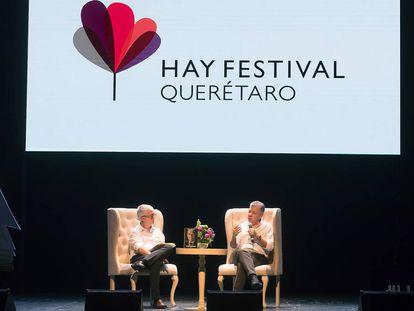 La charla entre el expresidente colombiano, Juan Manuel Santos, y Javier Moreno. director de EL PAÍS América.