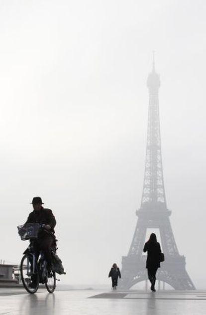 París lleva días sufriendo altos niveles de contaminación por partículas.