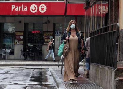 Estación de Cercanías de Parla, donde la mujer asegura que la secuestraron.