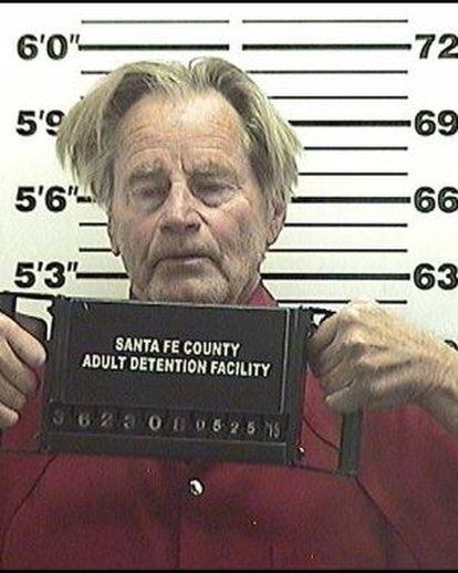 Sam Shepard es detenido en Nuevo México.