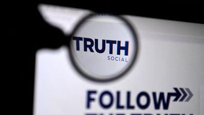 Logotipo de 'Truth Social', la red social que tiene previsto lanzar Donald Trump.
