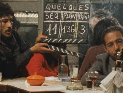 Una imagen del rodaje de 'De quelques évènements sans signification'.