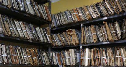Parte del archivo de la Fundación Nacional Francisco Franco.