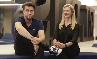Andy Muschietti y Barbara Muschietti, en la redacción de El País.