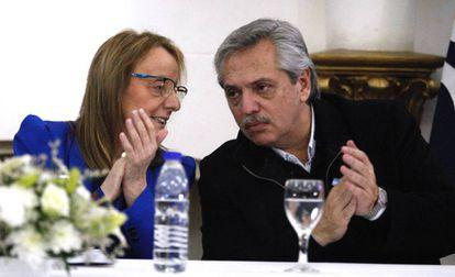 Alberto Fernández visitó el lunes a Alicia Kirchner, gobernadora de Santa Cruz y hermana del expresidente Néstor Kirchner.