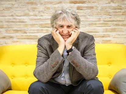 Juan Luis Arsuaga en la sede de la Fundación Gadea Ciencia en Madrid.