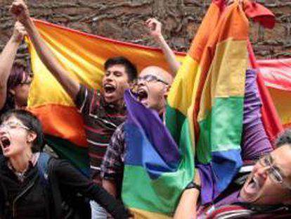 La semana pasada, la Corte Constitucional reconoció el derecho al matrimonio en parejas del mismo sexo.