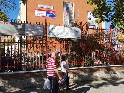 El instituto del distrito de San Blas, en Madrid capital, donde estudia la víctima de la agresión.
