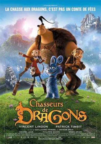Cartel de Cazadores de dragones