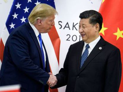La decisión se adopta tras la reunión de Donald Trump y de Xi Jinping