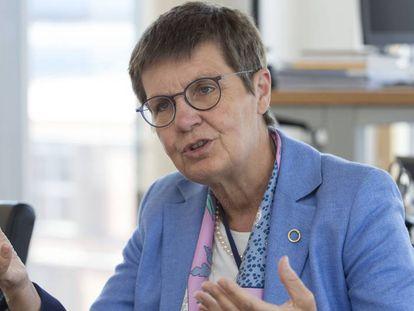 Elke König, presidente de la Junta Única de Resolución bancaria