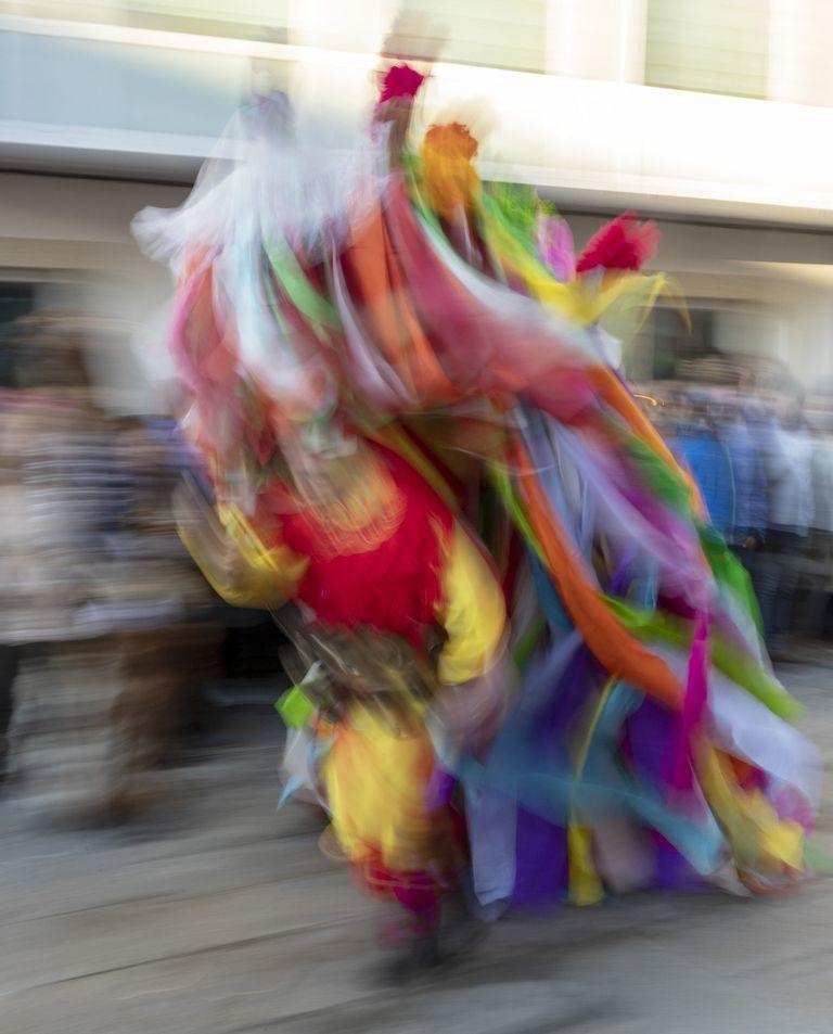 Entroido Ribeirao de Chantada, una tradición recogida en el libro 'Galicia é unha festa' de Xurxo Lobato.