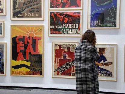 La muestra 'Picasso y el éxodo', recién estrenada en el museo Les Abattoirs, en Toulouse, Francia.