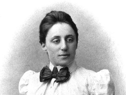 La matemática Emmy Noether.