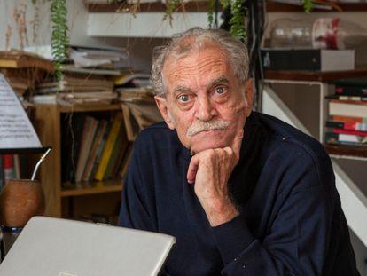 Rodolfo Enrique Fogwill, retratado en agosto de 2010 en Buenos Aires.