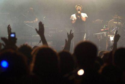 Actuación de LCD Soundsystem en el Festival Sonar en A Coruña, 2010.