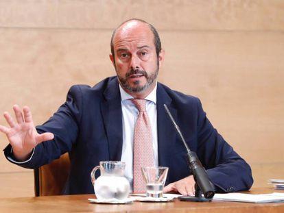 El Portavoz del Gobierno de la Comunidad, Pedro Rollán, en una imagen de archivo.