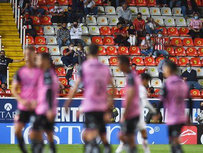 Las gradas del estadio Victoria de Aguascalientes.