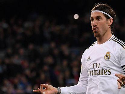 El futbolista del Real Madrid Sergio Ramos.