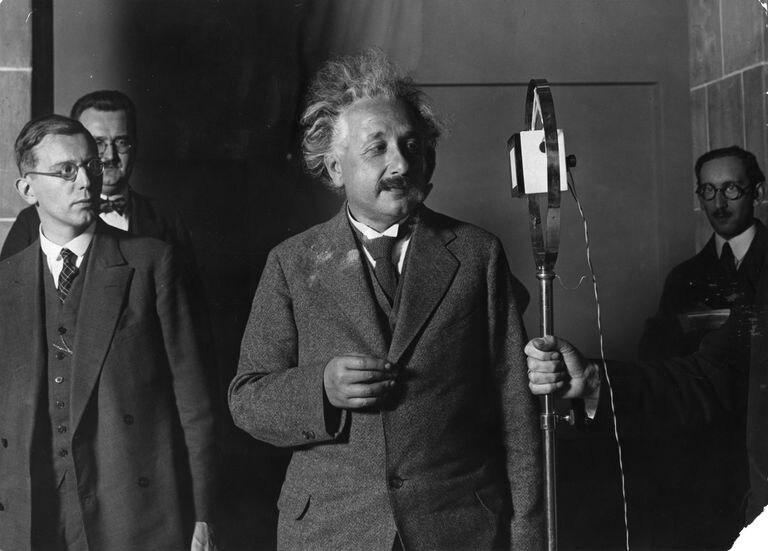 El físico Albert Einstein en 1929.