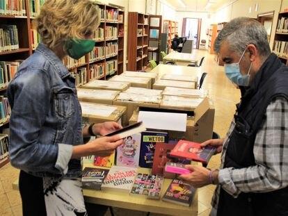 Ejemplares de libros con perspectiva LGTBI entregados en los centros de secundaria de Castellón