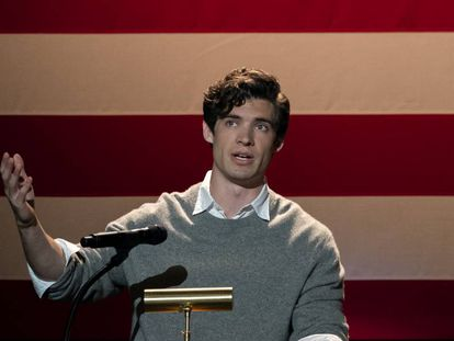 David Corenswet en el primer capítulo de 'The Politician' (Netflix).