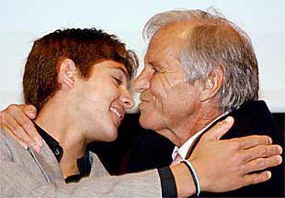 En la imagen, Sebastien Castella y Manuel Benítez.