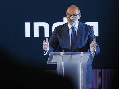 Fernando Abril-Martorell, presidente de Indra, en una foto de archivo.