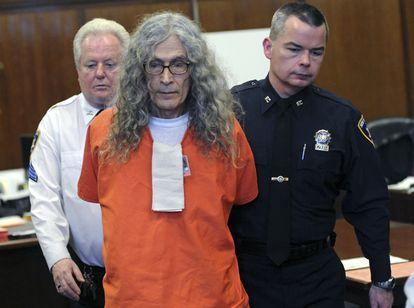 El asesino Rodney Alcala fue sentenciado a 25 años de prisión en enero de 2013 por el asesinato de dos mujeres en los años 70.