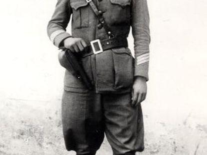 Una imagen del sargento Fabra.