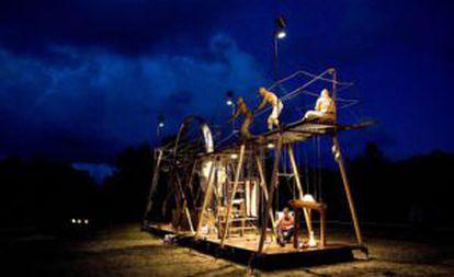 La compañía holandesa Tuig ofrece el espectáculo Schraapzucht dentro del Festival VEO