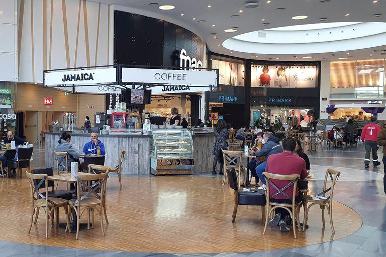 Vista del centro comercial Río Shopping, en Valladolid.