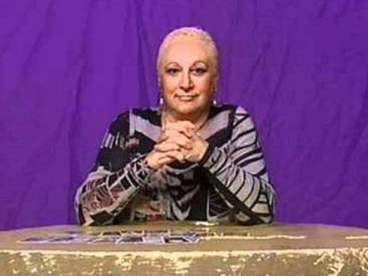 La tarotista Pepita Villalonga.