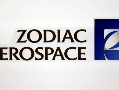 Logotipo de la empresa francesa 'Zodiac Aerospace'.
