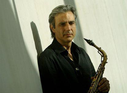 El saxofonista de jazz Perico Sambeat.