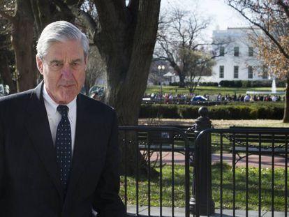 El fiscal especial Robert Mueller el pasado domingo en Washington.