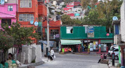 Una de las esquinas del barrio de Los Bordos, Ecatepec.