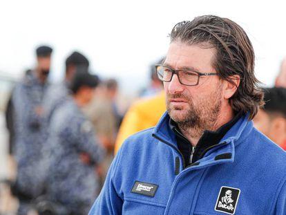 David Castera, director del Dakar Rally.