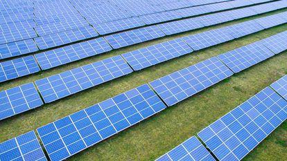Parque fotovoltaico de Solaria.