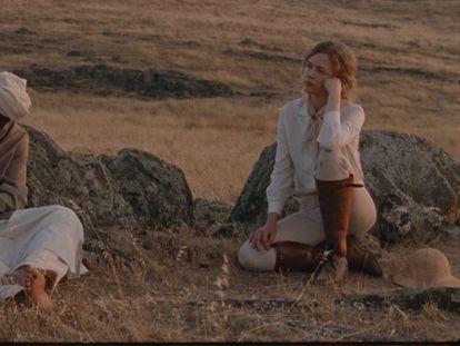 Alito Rodgers y Christina Rosenvinge, en 'Karen¡.