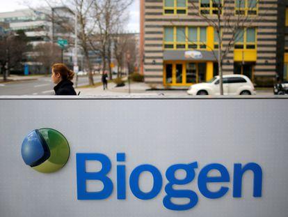 Sede de Biogen en Cambridge (Massachusetts, Estados Unidos), en una imagen de archivo.