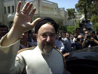 Mohamed Jatami, en 2004 cuando era presidente de Irán.