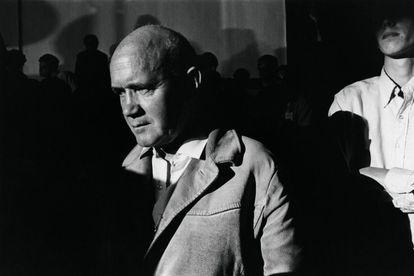 Jean Genet, en  Chicago en 1968.