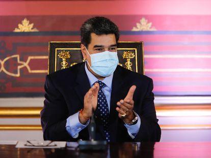 Nicolás Maduro, durante un evento.