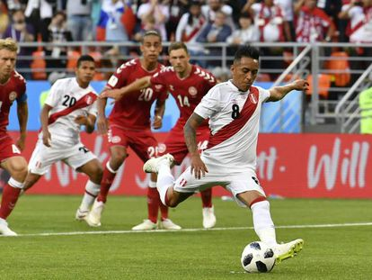 Perú se enfrenta a Dinamarca en el partido del Mundial de Rusia 2018