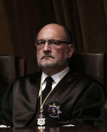Francisco Pérez de los Cobos antes de ser elegido presidente del TC.