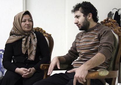 Sakineh, con su hijo Sajjad.